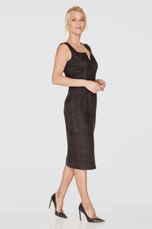 Платье «Свена» черного цвета