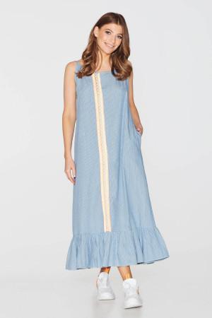 Сукня «Петра» блакитного кольору