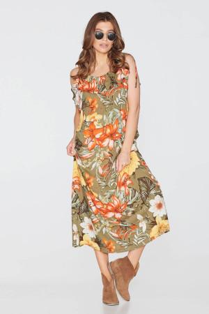 Сукня «Саша» з квітковим принтом