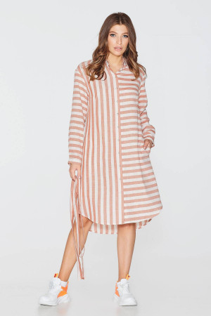 Сукня «Віста» теракотового кольору