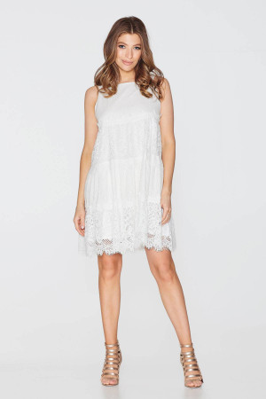 Платье «Альба» белого цвета