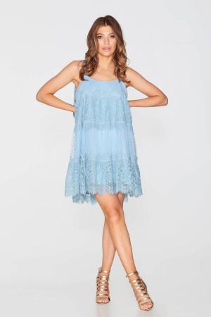 Сукня «Альба» блакитного кольору