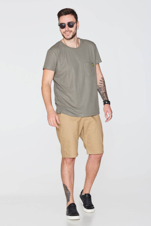 Чоловічі шорти «Тірт» кольору гірчиці
