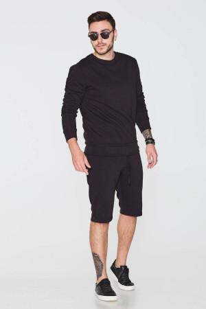 Мужские шорты «Амадо» черного цвета