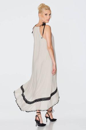 Сукня «Рогніда» бежевого кольору