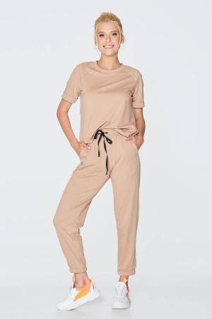 Спортивный костюм «Дафна» бежевого цвета
