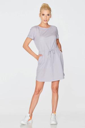 Платье «Августина» серого цвета
