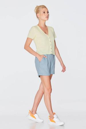 Блуза «Ликерія» жовтого кольору