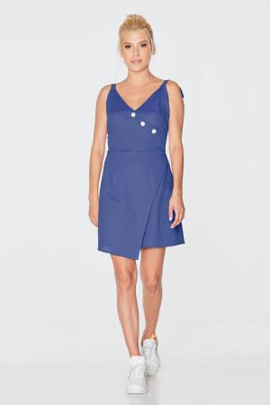 Платье «Дамира» синего цвета