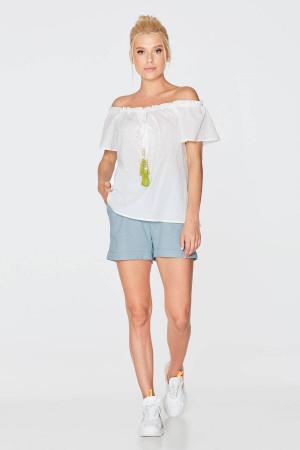 Блуза «Біляна» білого кольору