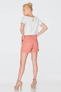 Блуза «Плай» білого кольору
