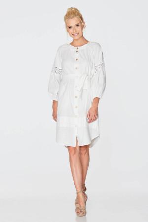 Платье «Фаина» белого цвета
