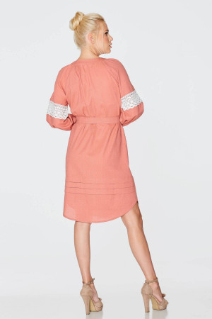 Сукня «Фаїна» теракотового кольору