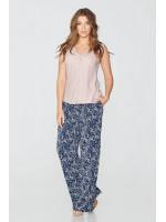 Блуза «Іста» пудрового кольору