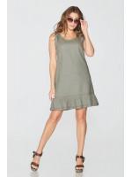 Сукня «Харитя» кольору хакі