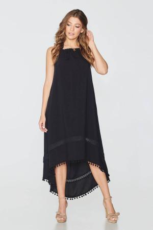 Платье «Марианна» черного цвета