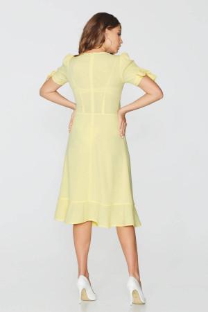 Платье «Азалия» желтого цвета