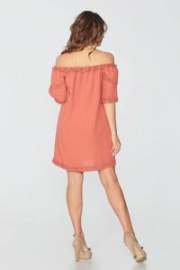 Сукня «Оляна» теракотового кольору