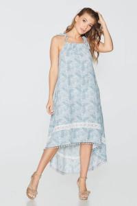 Платье «Соломия» голубого цвета