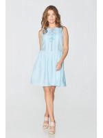 Платье «Килина» голубого цвета