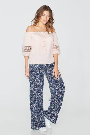 Блуза «Майя» пудрового кольору