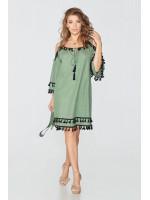 Платье «Диана» зеленого цвета