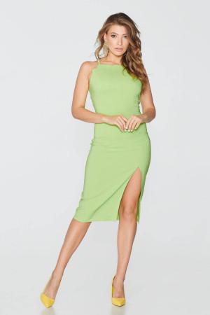 Платье «Гайтана» салатового цвета