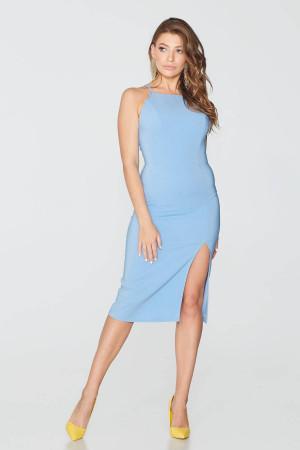 Платье «Гайтана» голубого цвета