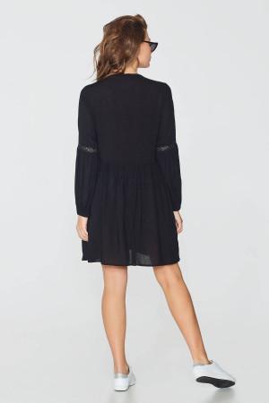 Платье «Ада» черного цвета