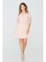 Платье «Светлана» персикового цвета