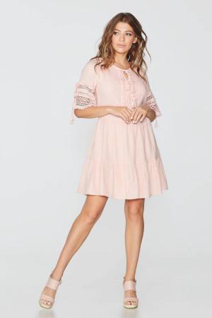 Сукня «Світлана» персикового кольору