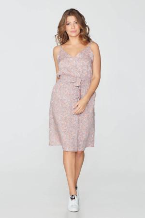 Платье «Агнесса» розового цвета