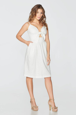 Платье «Орестея» белого цвета