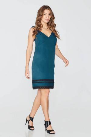 Платье «Нина» бирюзового цвета