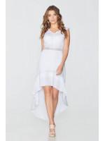 Платье «Серафима» белого цвета