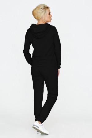 Спортивний костюм «Орнамент» чорного кольору