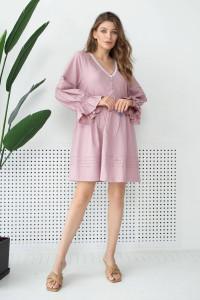 Платье «Зария» цвета пудры