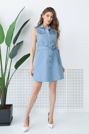 Сукня «Бросса» блакитного кольору