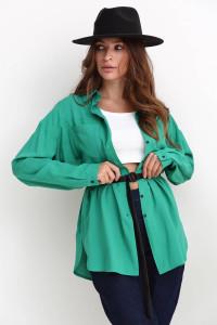 Сорочка «Мінерва» зеленого кольору