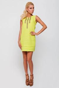 Сукня «Софія» жовтого кольору