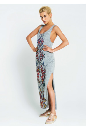 Платье «Глория» цвета меланж
