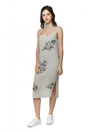 Сукня «Тендітність» сірого кольору