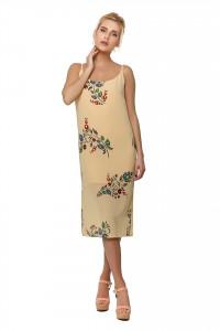 Платье «Хрупкость» персикового цвета