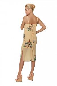 Сукня «Тендітність» персикового кольору