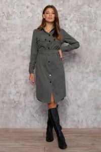 Сукня «Таска» оливкового кольору