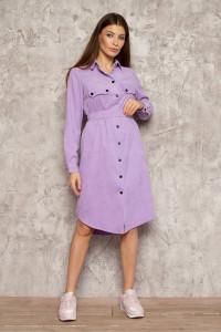 Платье «Таска» лилового цвета