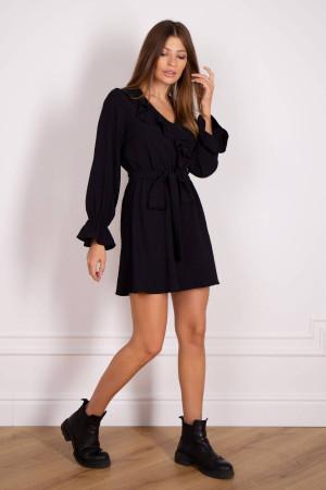 Сукня «Ортанс» чорного кольору