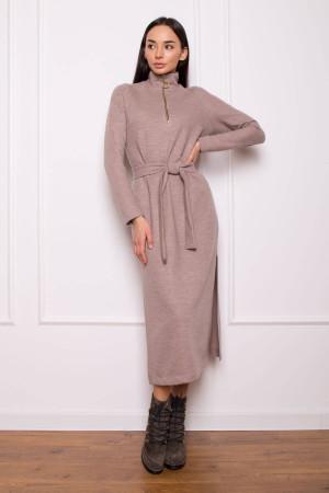 Платье «Фибби» бежевого цвета