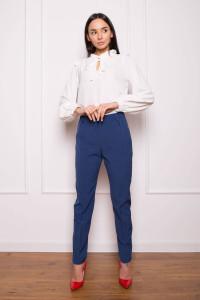 Блуза «Деніз» молочного кольору