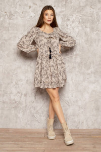 Сукня «Мітраль» бежевого кольору